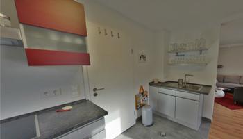Küche der Ferienwohnung Paul in Oberfranken
